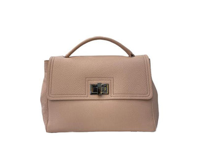 Lrg Peach Soft Leather Handbag Bag Nimmo shoes