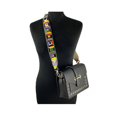 Multicolour studded Bag strap Nimmo Shoes