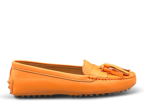 Orange Loafer Shoe Nimmo shoes