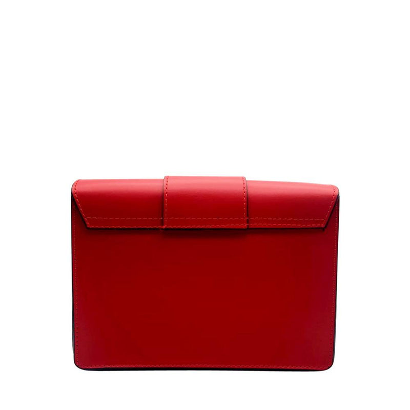 Red Leather Clutch Clutch Nimmo shoes