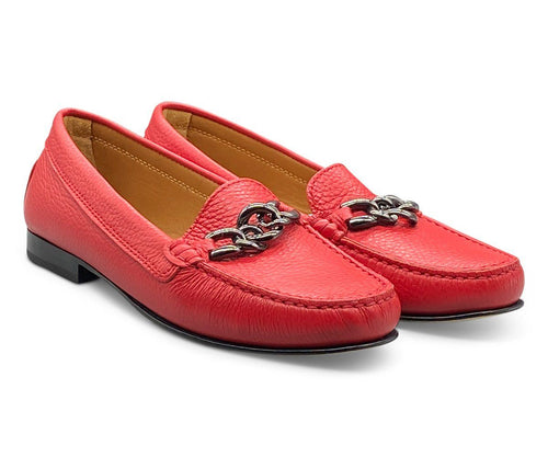 Red Loafer Shoe Nimmo shoes