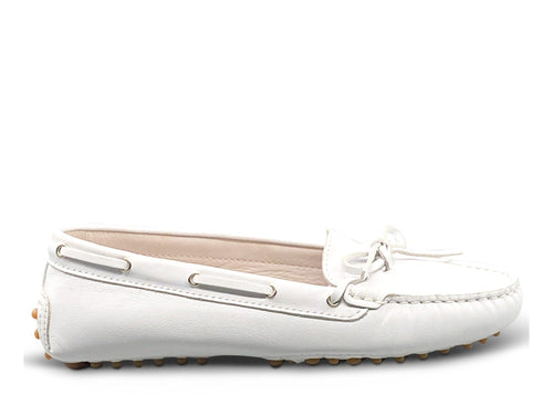 White Loafer Shoe Nimmo shoes