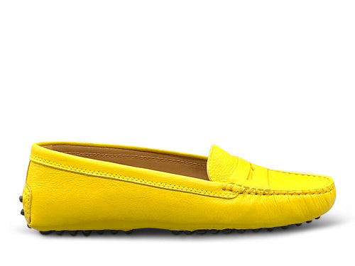 Yellow Loafer Shoe Nimmo shoes