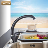 Xoxo Modern Style Home Multi Color Copper Kitchen Faucet Cold And Hot Bestshop For U