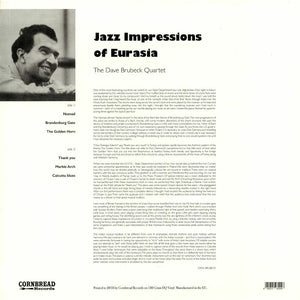 The Dave Brubeck Quartet - Jazz Impressions Of Eurasia