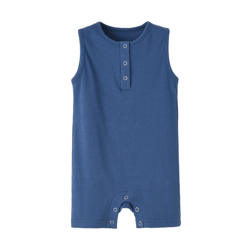 Sleeveless Everyday Romper - Spoiled Babys