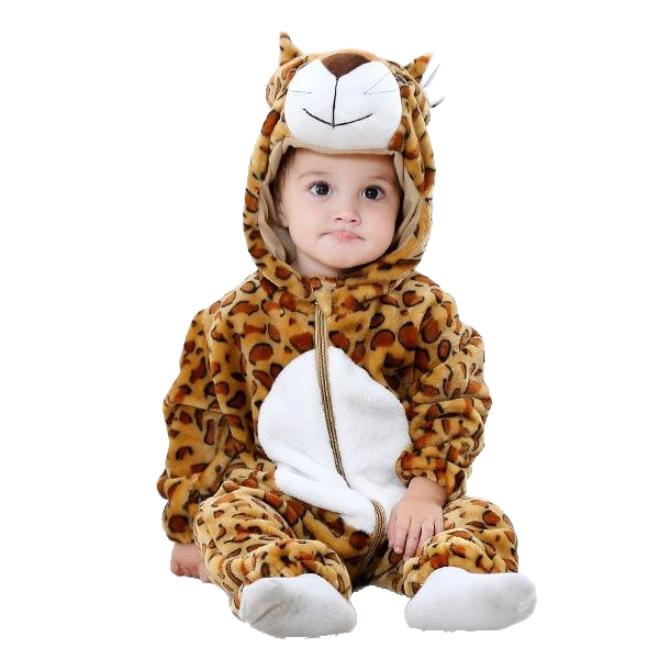 Crazy Animal Baby Jumpsuit - Spoiled Babys