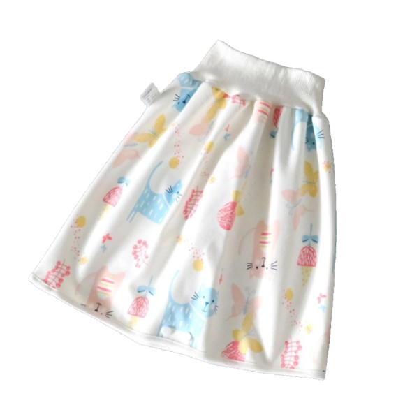 Waterproof Diaper Training Skirt - Spoiled Babys