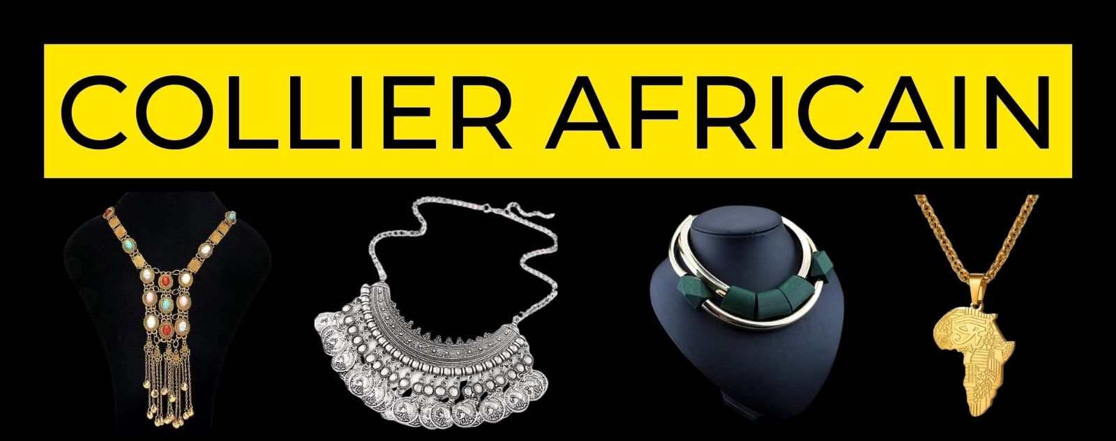 collier africain traditionnel