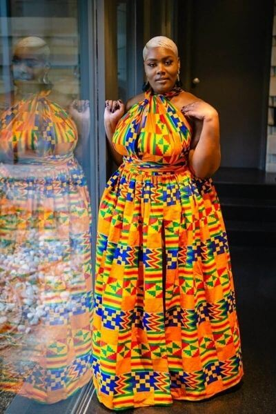 robe africain grande taille
