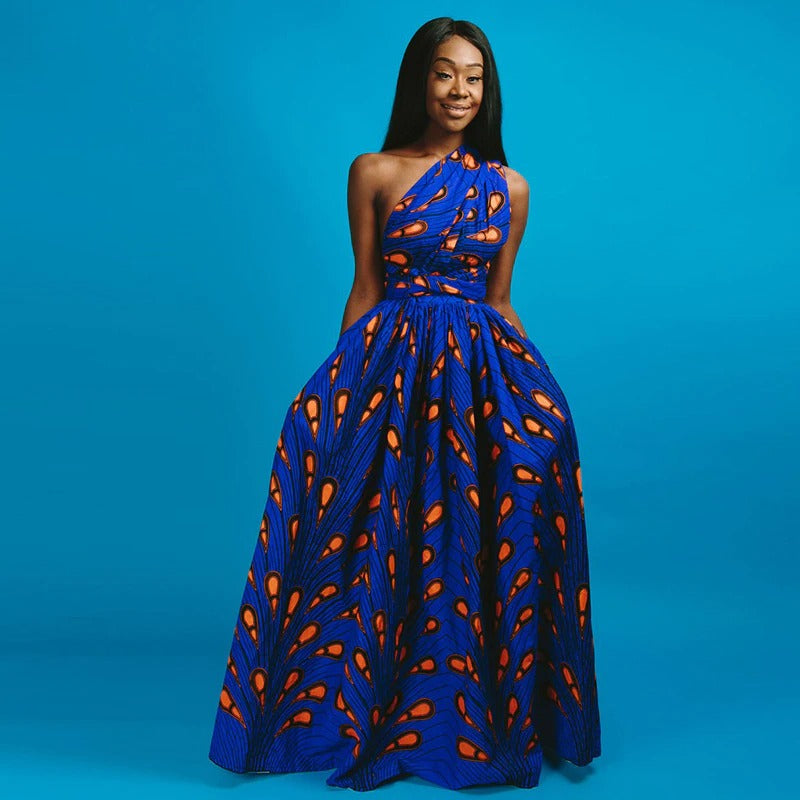 Une robe africaine traditionnelle