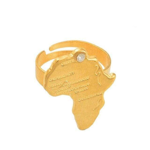 Bague Africaine Continent