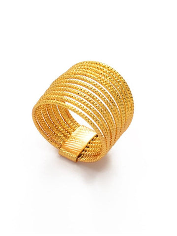 Bague Africaine Corde d'Or