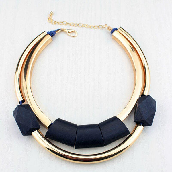 Collier Africain Moderne