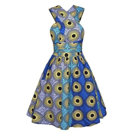 Robe Africaine Hypnotique