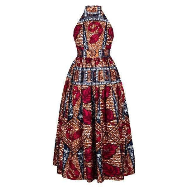 Robe Africaine Rouge
