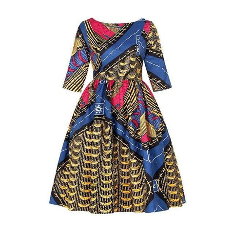 Robe Africaine Royale