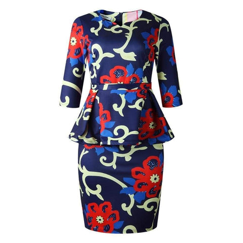 Robe Africaine Style Tailleur