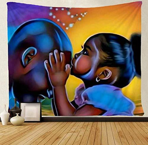 Tenture Africaine Amour Paternel