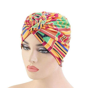 Turban Africain Court  Traditionnel