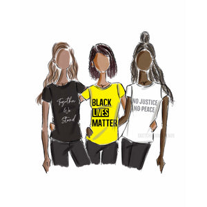 Black Lives Matter Donation Print