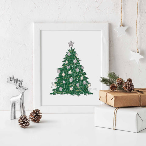 Oh Christmas Tree Print