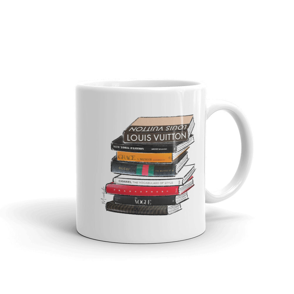 Fashion Books Mug