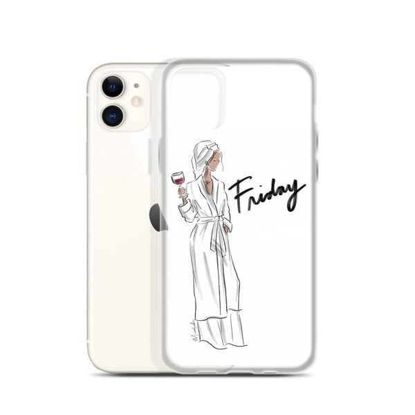 Friday Robe iPhone Case (select skin tone)