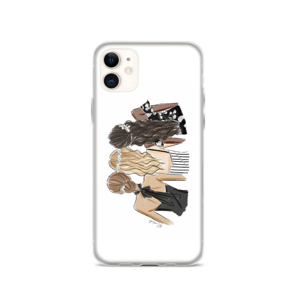 Girlfriends iPhone Case