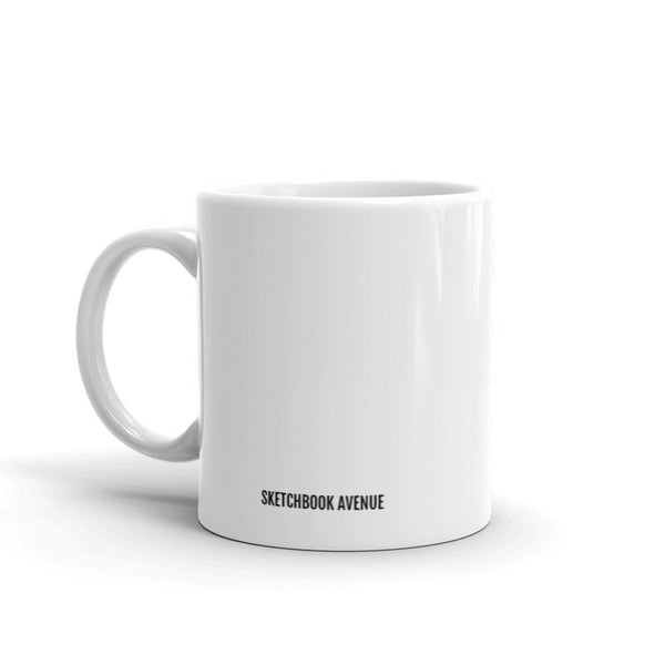 Bookworm Mug (select hair color/skin tone)