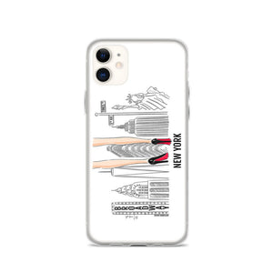 New York Heels iPhone Case (select skin tone)