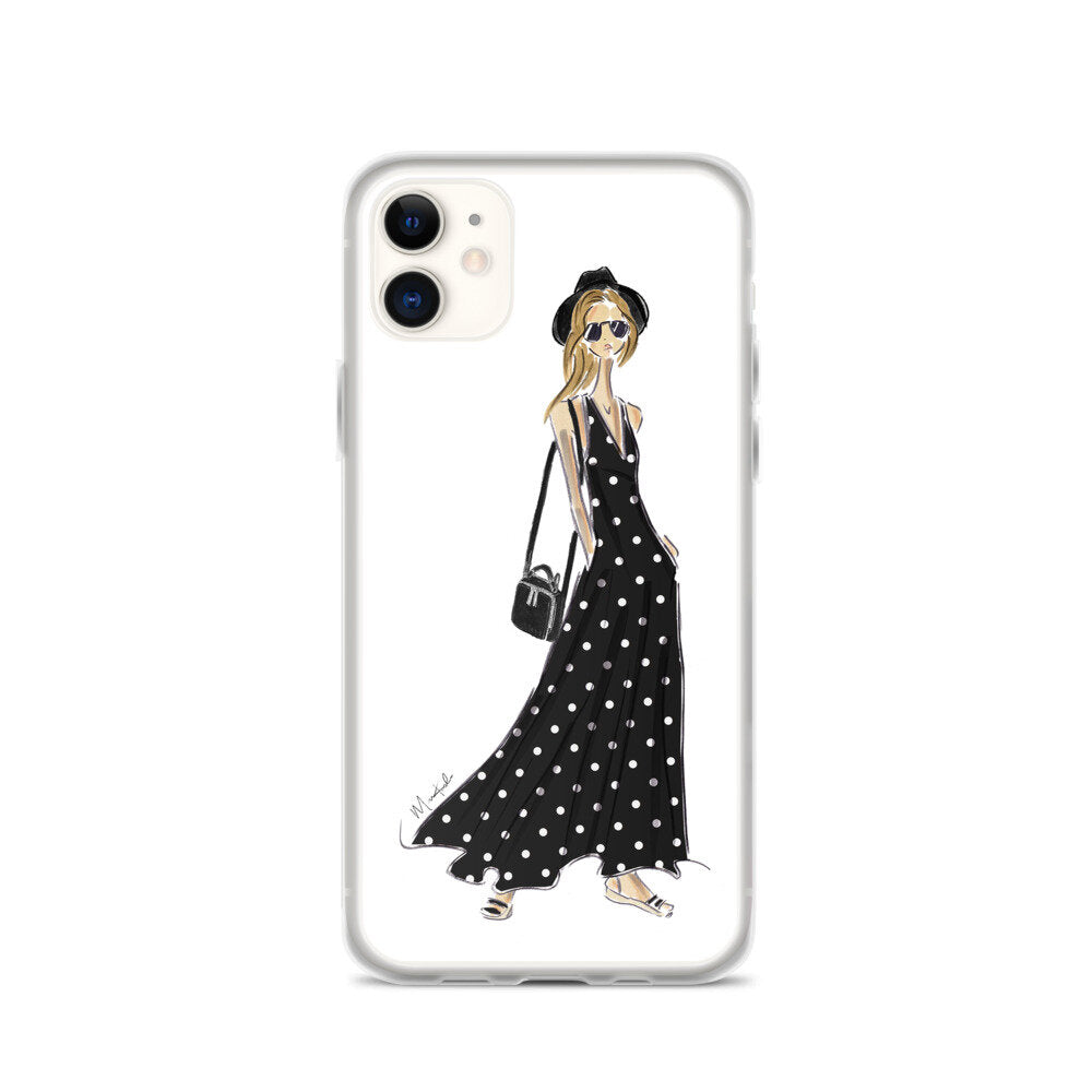 Polka Dot Dress iPhone Case