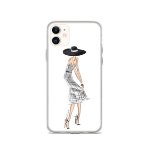 Stripe Dress iPhone Case (select skin tone)