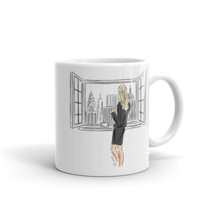 View From A Window Mug (select hair color/skin tone)