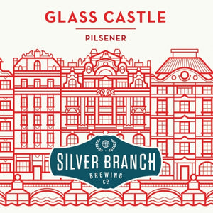 Silver Branch Glass Castle Pils