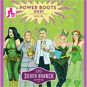 Silver Branch Brewing Power Boots 2021