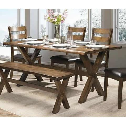 SASHA LIVE EDGE DINING TABLE ONLY