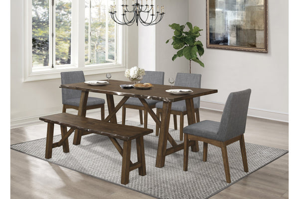 LAMAR - LIVE EDGE DINING TABLE