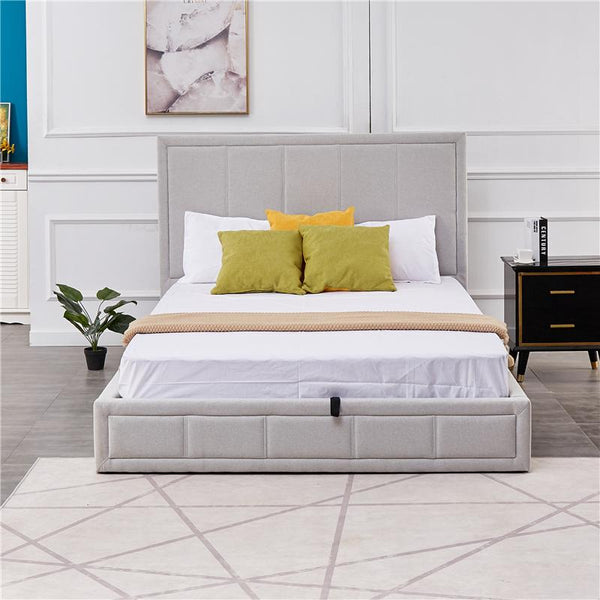 LILY STORAGE BED -KING