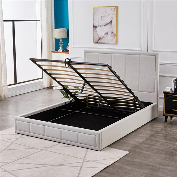 LILY STORAGE BED -QUEEN