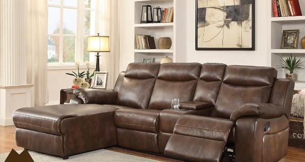 9110 RECLINER SECTIONAL