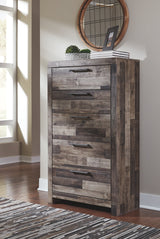 DEREKSON FIVE DRAWER CHEST