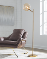ABANSON METAL FLOOR LAMP (1/CN)
