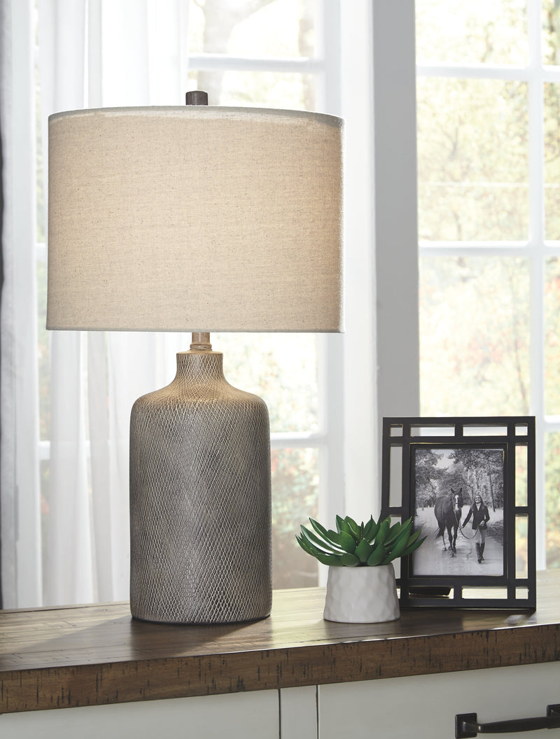 LINUS CERAMIC TABLE LAMP (1/CN)