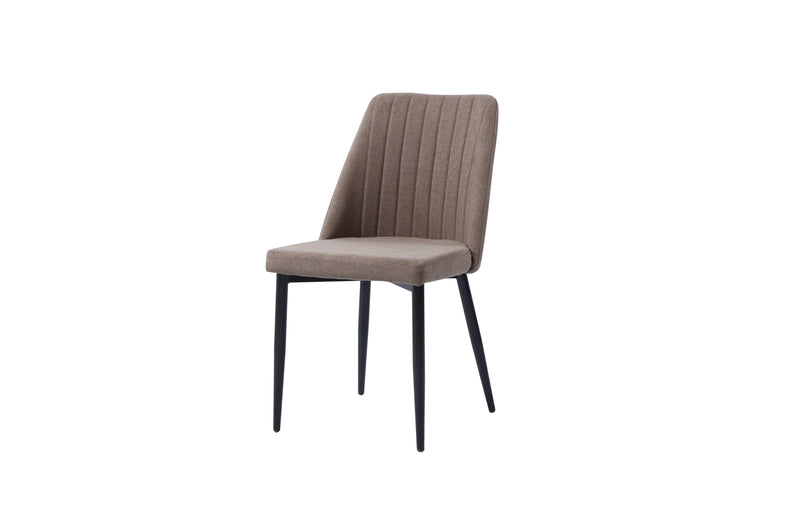 DIANA MID-CENTURY MODERN CHAIR - BROWN