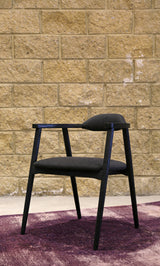 AMSTERDAM DINING CHAIR - TWILL ANTRACITE