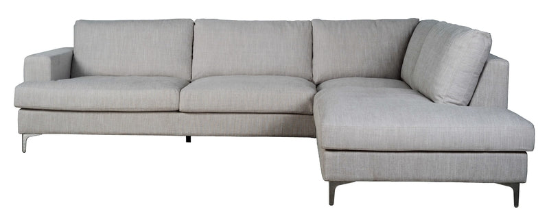 FEATHER RIGHT SECTIONAL SOFA