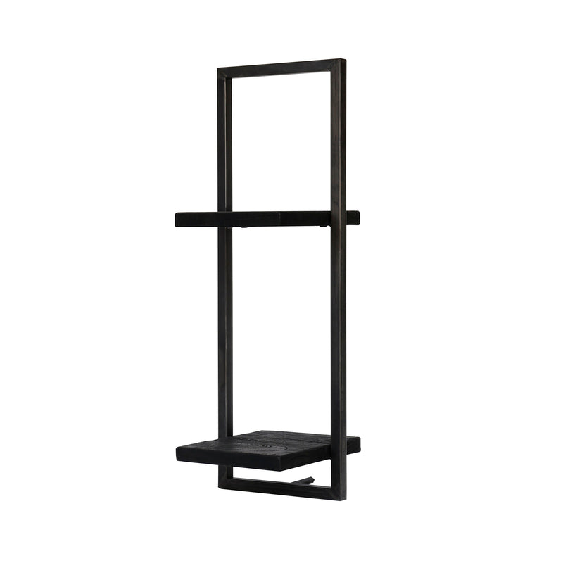 D-Bodhi Metal Frame Wall Box - Black, Type D (1/box)