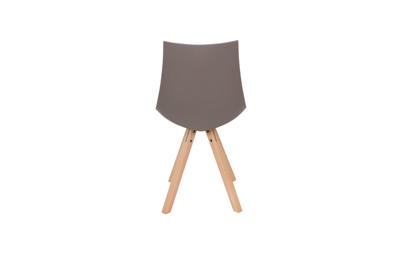 LILLY MID-CENTURY DINING CHAIR -GREY