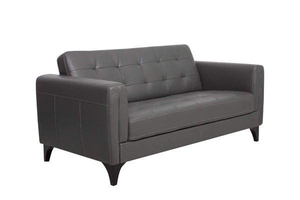 LUCIA TANNER GREY LOVE SEAT
